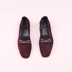 Aerosoles Classic Suede Leather Loafers